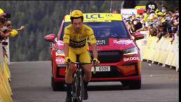 Roglic défait sur le Tour de France