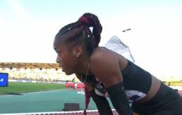 Cyréna Samba-Mayela le futur de l'athlétisme français