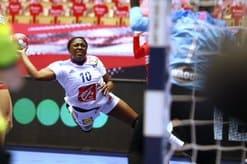 Nouvelle grosse performance de Grace Zaadi dans ce France - Espagne handball