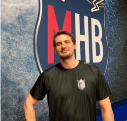 Alexandre Zaug, président de Merignac Handball