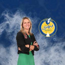 Sophie Palisse, présidente de Saint-Amand Handball
