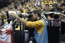 Stéphane Pillaud, passionné de sport et de photo
