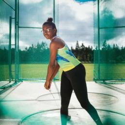 Rose Loga nouvelle pépite de l'athlétisme francais