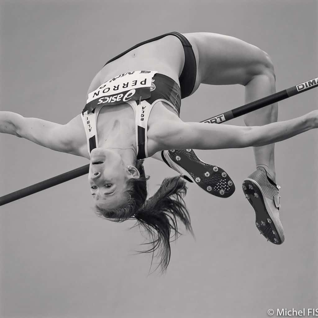 Célia Perron hauteur heptathlon
