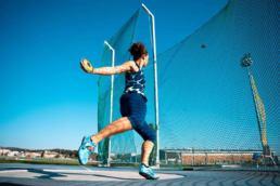 Mélina Robert-Michon vole vers son rêve olympique.