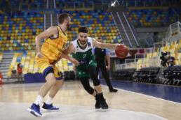 Ivan Février en pleine action avec son club de Nanterre 92