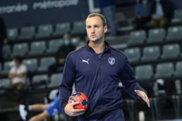 Valentin Porte a faim de titres avec l'équipe de France de handball