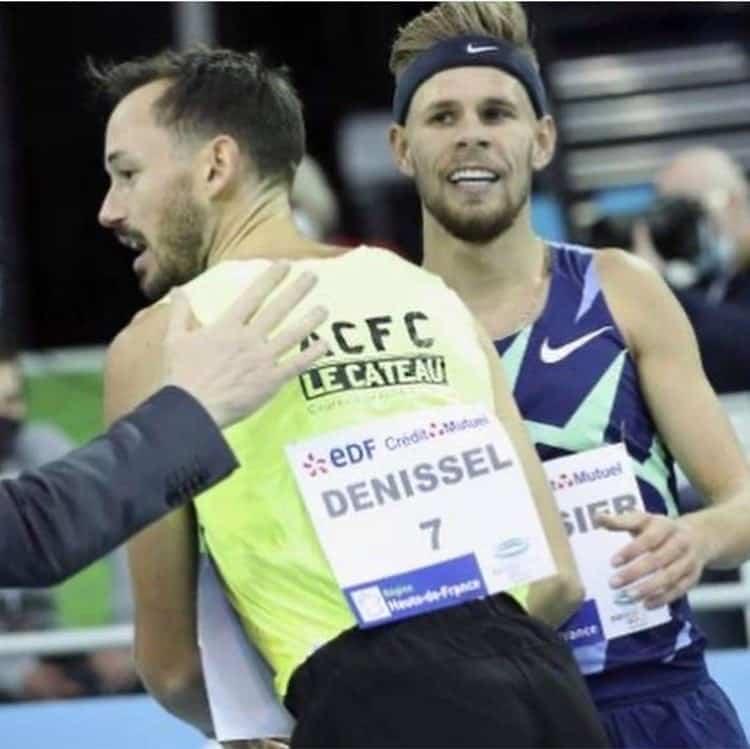 Simon Denissel aime la confrontation avec les meilleurs sur le 1500 m.