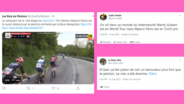 3e étape Giro 2021 : L'exploit de Van Der Hoorn vu par twitter
