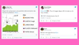 4e étape Giro 2021 : Twitter s'est enflammé