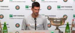 Novak Djokovic, grand joueur mais pas un grand champion