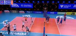 Volley Bleus - Une défaite au bout du tie break