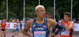 Sacha Zhoya n'a pas tremblé en séries du 110 m haies.