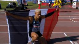 L'or et le record des championnats pour Sacha Zhoya